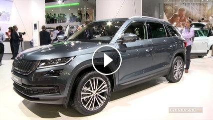 skoda kodiaq mondial de paris 2016. Black Bedroom Furniture Sets. Home Design Ideas