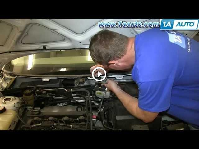 How to install replace windshield wiper motor 2002 09 ford for 2002 ford focus rear window regulator