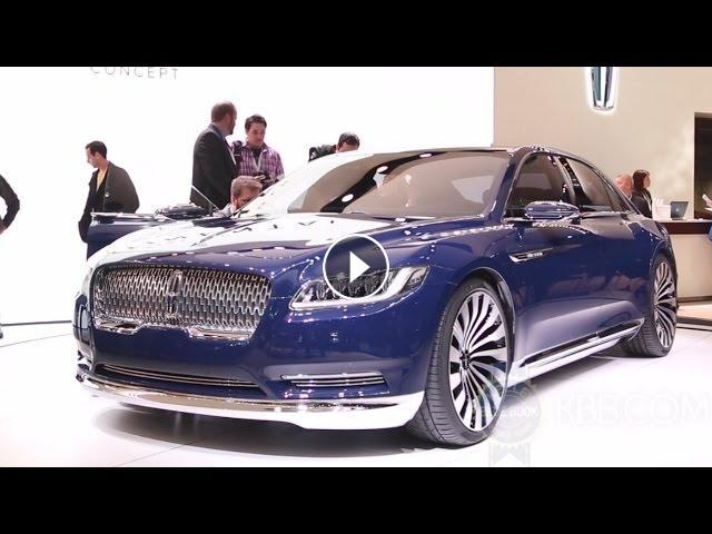lincoln continental concept 2015 new york auto show. Black Bedroom Furniture Sets. Home Design Ideas