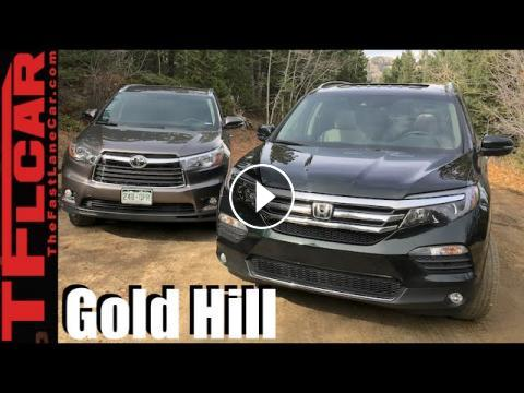 2016 honda pilot vs toyota highlander take on gold mine. Black Bedroom Furniture Sets. Home Design Ideas