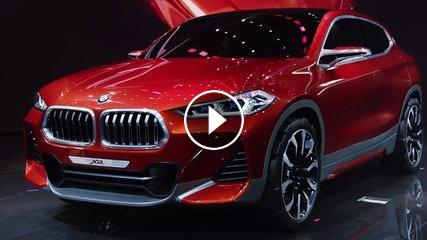 bmw concept x2 world premiere at the paris motor show 2016. Black Bedroom Furniture Sets. Home Design Ideas