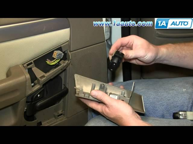 How to install replace headlight switch ford explorer for 2002 explorer window switch