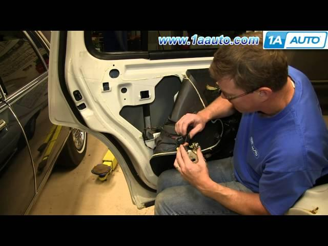 How to install front door handle latch cable 2002 05 ford for 2002 ford explorer rear window latch