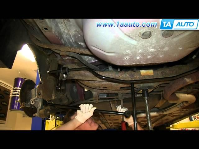 how to install replace rear shock strut 2000 07 chevy. Black Bedroom Furniture Sets. Home Design Ideas