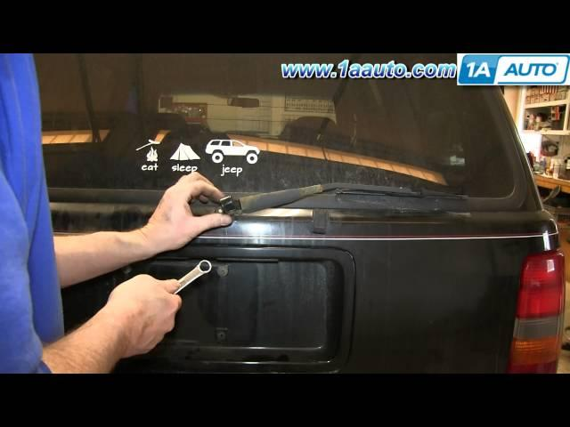 Af on Jeep Grand Cherokee Cabin Air Filter Location