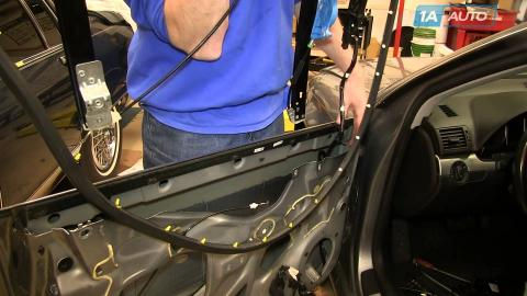 How to install replace broken windshield wiper for 2003 audi a4 rear window regulator replacement