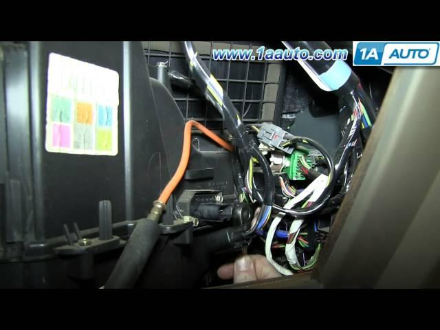 How to replace ac blower motor on 94 chevy truck autos post for Ac fan motor replacement