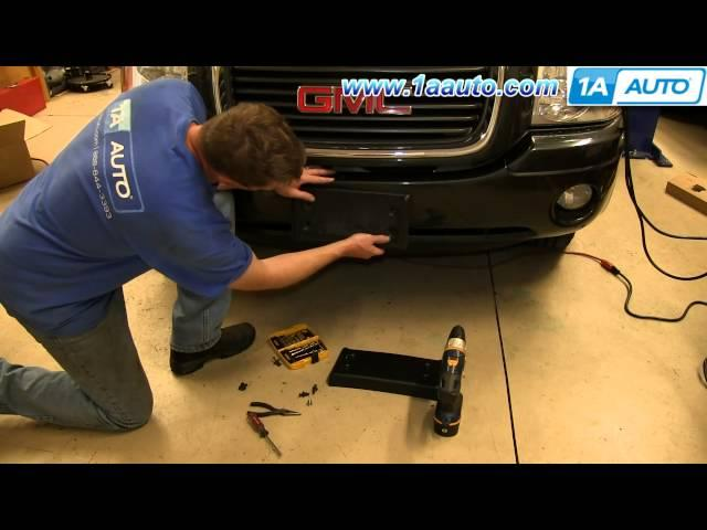 2014 Ford Escape License Plate Frames