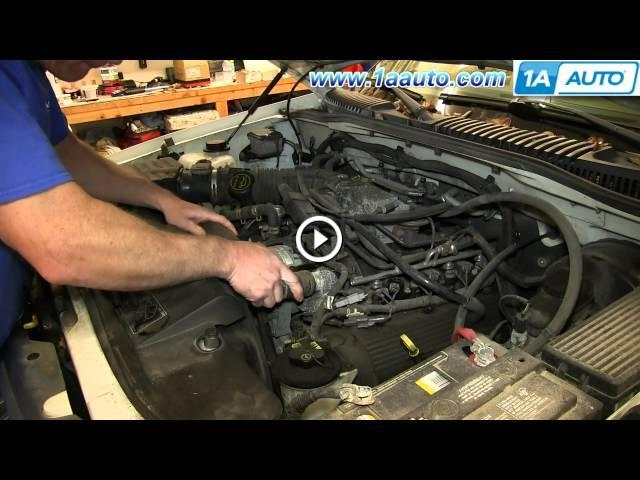 How To Install Replace Thermostat 4 6l V8 Ford Explorer