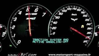 Corvette ZR1 Acceleration Top Speed 0-330 Km/h. ( Www.vb2r.com ) 0 ...