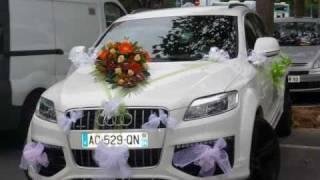 Pin Décoration Voiture Mariage Audi A6 on Pinterest